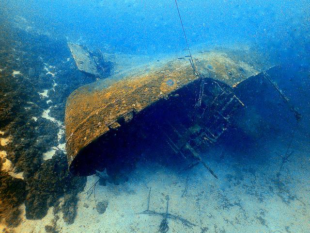 Hilma Hooker, Most Popular Wreck Dive, Bonaire - Taken by Diann Corbett, 05/2015.