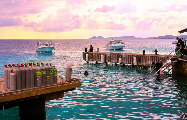 Buddy Dive Resort, Bonaire, Dutch Caribbean - Taken by Diann Corbett, 05/2014.