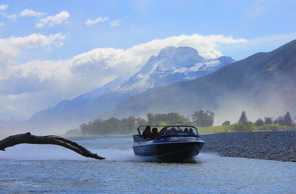 Jet Boat, Dart River Wilderness Tours, Glenorchy, New Zealand - Taken by Diann Corbett, 09/2014.