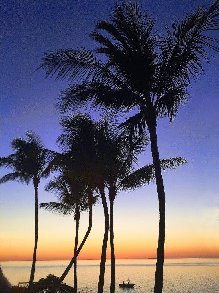 Sunset Florida Keys, 5/2015 by Diann Corbett