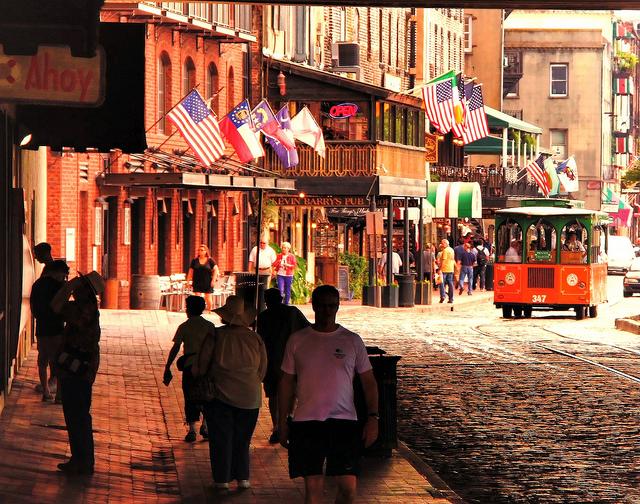 River Street, Savannah, Georgia, Taken by Diann Corbett, 05/2012.