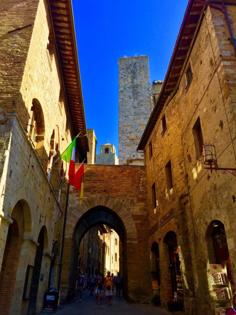 Gate to San Gimignano, Italy - Taken by Diann Corbett, 09/2015.