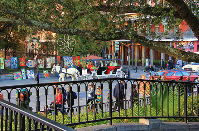 New Orleans, Louisiana - Taken by Diann Corbett, 02/2014.