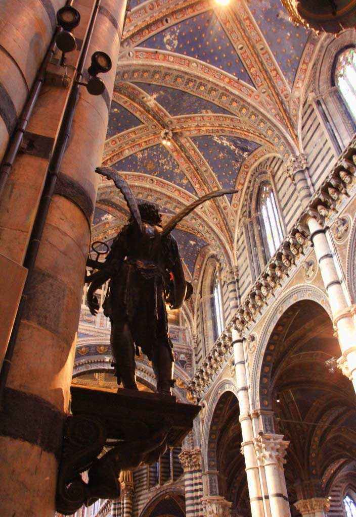 Angel, Siena Cathedral, Italy - Taken by Diann Corbett, 09/2015.