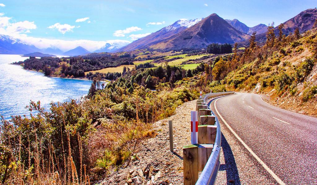 The Road to Glenorchy, New Zealand - Taken by Diann Corbett, 09/2015.