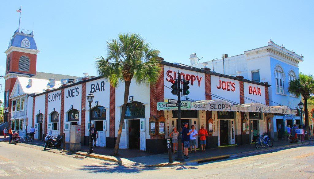 Sloppy Joe's, Ernest Hemingway Hangout, Key West, Florida - Taken by Diann Corbett, 05/2015.