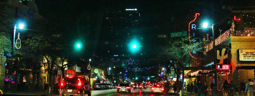 6th Street, Austin, TX - taken by Diann Corbett, 12/2015.