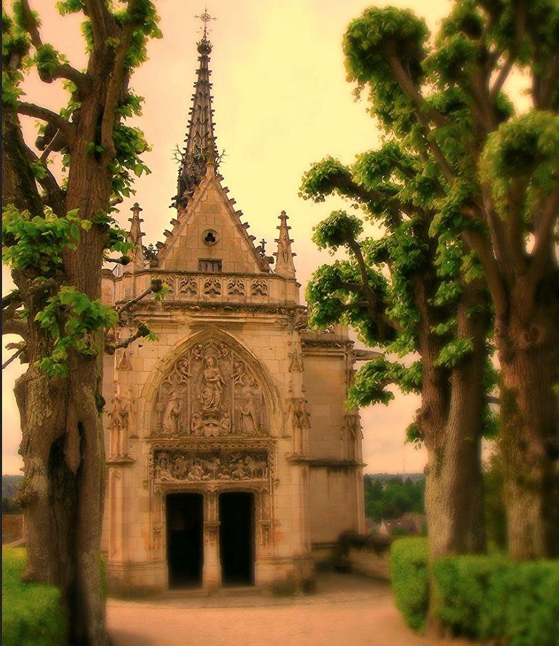 DaVinci Chapel, Château d'Amboise, Loire Valley, France - Taken by Diann Corbett, 05/2009